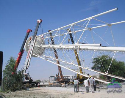 طراحی، تهیه و ساخت نصب مخزن هوایی