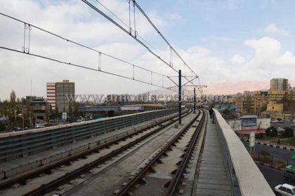 اجرای سیستم اطفاء حریق مترو تبریز
